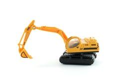 Brinquedo da máquina escavadora Foto de Stock Royalty Free