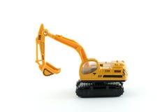 Brinquedo da máquina escavadora Fotografia de Stock Royalty Free