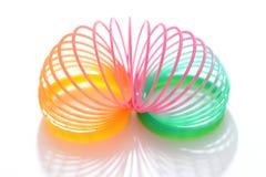 Brinquedo da mola de bobina Foto de Stock Royalty Free