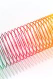 Brinquedo da mola de bobina Imagem de Stock