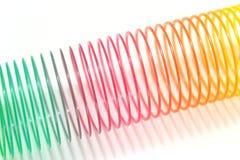Brinquedo da mola de bobina Fotografia de Stock