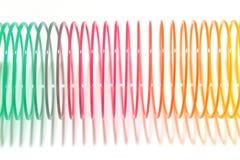 Brinquedo da mola de bobina Imagem de Stock Royalty Free