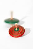 Brinquedo da parte superior de giro Foto de Stock Royalty Free