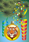 Brinquedo de ano novo Foto de Stock Royalty Free