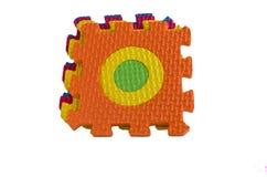 Brinquedo de bloqueio das esteiras da espuma Fotos de Stock
