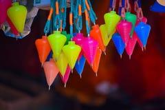 Brinquedo de giro colorido foto de stock royalty free
