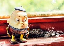 Brinquedo de Humpty Dumpty velho Fotografia de Stock