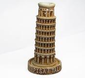 Brinquedo de inclinação da torre de Pisa Fotos de Stock