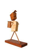 Brinquedo de madeira Fotografia de Stock Royalty Free