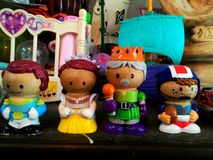 Brinquedo de madeira Imagens de Stock Royalty Free