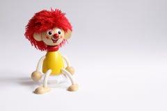 Brinquedo de madeira da boneca Foto de Stock