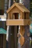 Brinquedo de madeira da casa Imagem de Stock