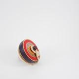 Brinquedo de madeira da parte superior de giro (1) Fotografia de Stock Royalty Free