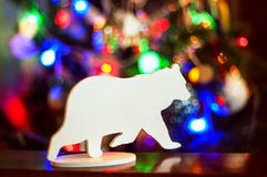 Brinquedo de madeira do Natal Foto de Stock Royalty Free