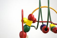 Brinquedo de madeira para miúdos Foto de Stock Royalty Free