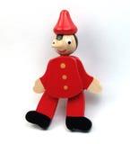 Brinquedo de Pinocchio Imagens de Stock