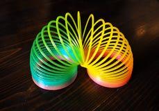 Brinquedo de Raibow para crianças imagens de stock royalty free