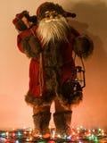 Brinquedo de Santa Claus Foto de Stock Royalty Free