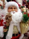 Brinquedo de Santa Claus fotos de stock royalty free