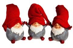 Brinquedo de três anões Foto de Stock