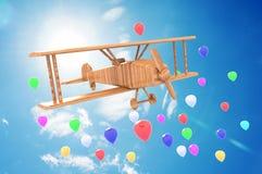 Brinquedo do avião Fotografia de Stock Royalty Free