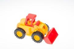 Brinquedo do bebê da escavadora Foto de Stock