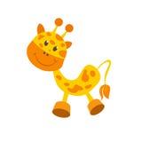 Brinquedo do bebê do girafa ilustração do vetor