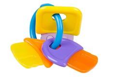 Brinquedo do bebê para o teething Fotografia de Stock Royalty Free
