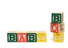Brinquedo do bebê Fotos de Stock Royalty Free