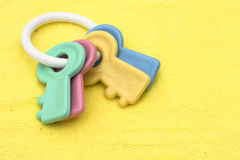 Brinquedo do bebê Imagens de Stock