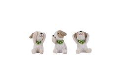 Brinquedo do cão foto de stock royalty free