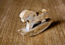 Brinquedo do cavalo de madeira Imagens de Stock