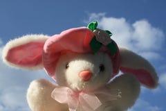 Brinquedo do coelho fotografia de stock