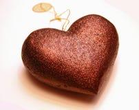 Brinquedo do coração Fotografia de Stock