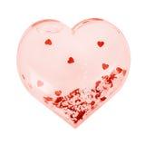 Brinquedo do coração Foto de Stock Royalty Free