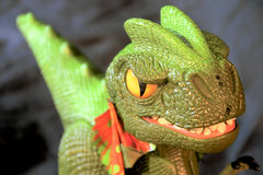 Brinquedo do dinossauro Fotos de Stock Royalty Free