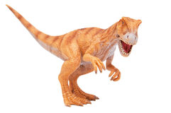 Brinquedo do dinossauro fotografia de stock