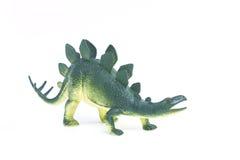 Brinquedo do dinossauro do Stegosaurus Fotos de Stock Royalty Free