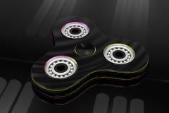 Brinquedo do girador da inquietação da mão - ilustração 3d Foto de Stock