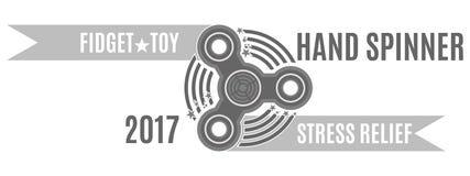 Brinquedo do girador 2017 a melhor maneira de aliviar o esforço no trabalho Imagem de Stock