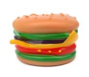 Brinquedo do hamburguer Fotografia de Stock Royalty Free