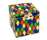 Brinquedo do Jack-in-the-box Fotografia de Stock