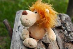 Brinquedo do leão Fotografia de Stock Royalty Free