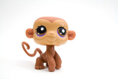 Brinquedo do macaco Fotos de Stock Royalty Free