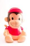 Brinquedo do macaco foto de stock