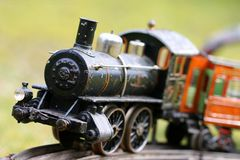 Brinquedo do motor Imagens de Stock Royalty Free