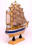 Brinquedo do navio Fotografia de Stock Royalty Free