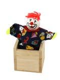 Brinquedo do palhaço Imagens de Stock
