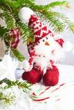 Brinquedo do pintainho do Natal Imagens de Stock Royalty Free