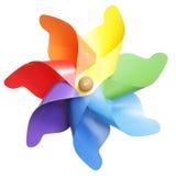Brinquedo do Pinwheel foto de stock